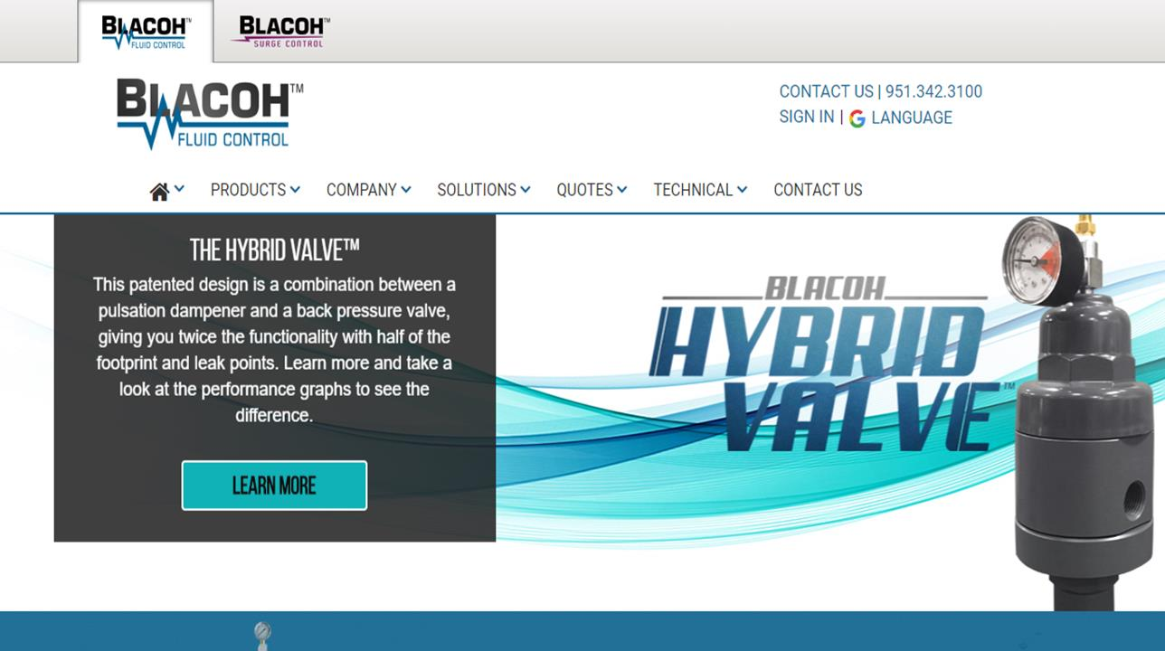 Blacoh Fluid Controls, Inc.