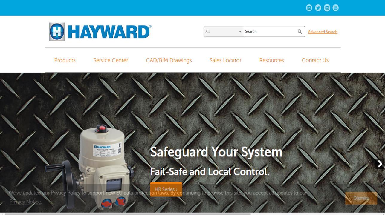 Hayward Flow Control Systems