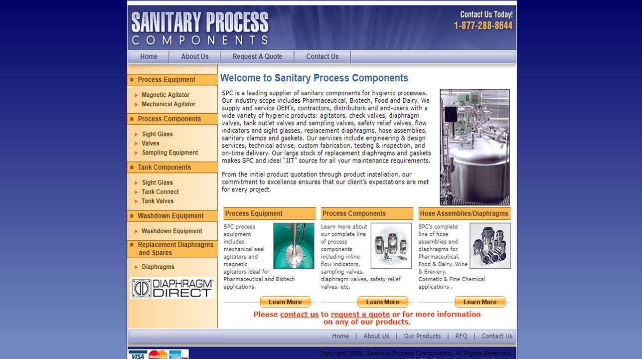 Sanitary Process Components, Inc.